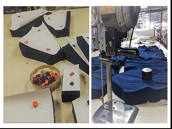企業團體服-丹丹漢堡製作過程組圖