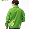 企業團體服-台積電外套背面