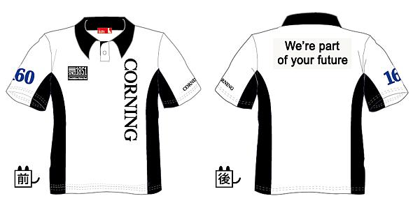 企業團體服-台灣康寧2015年活動服設計圖