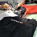 風衣外套訂做-台中精機logo