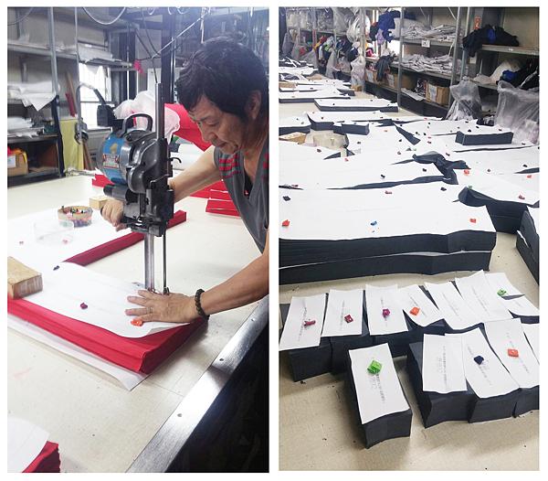 企業團體服-太平洋電線電纜製作過程