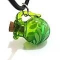 綠色葉子香氛瓶