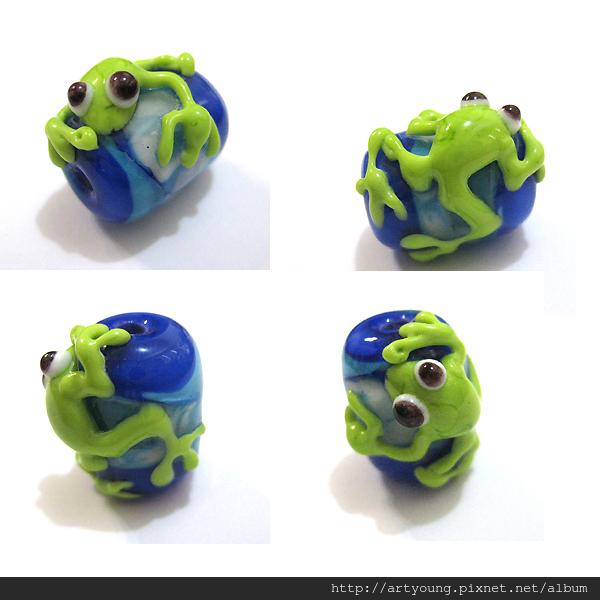 青蛙琉璃珠
