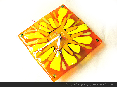A12花朵時鐘1