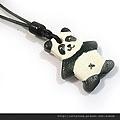 熊貓陶吊飾
