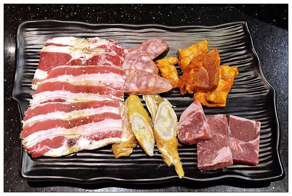 野安前菜盤-台中公益路燒肉吃到飽推薦