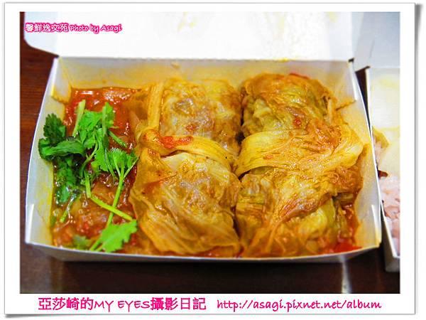 中式高麗菜捲vs日式紅豆飯|料理東西軍全在巷弄裡的美食,Seasons好食居|亞莎崎的貪吃美食誌