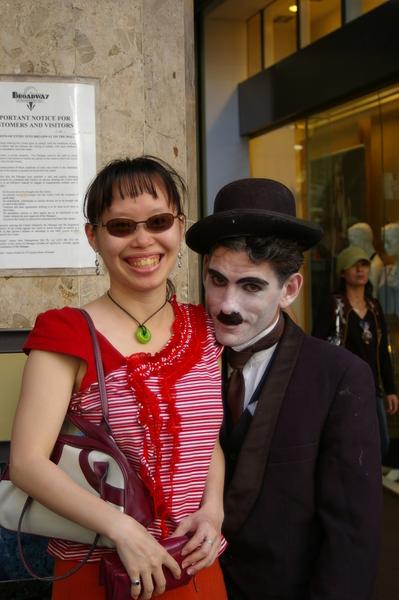 Me and Charlie Chaplin!!!