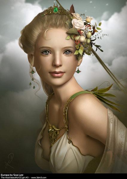 Beautiful CG Girl 3