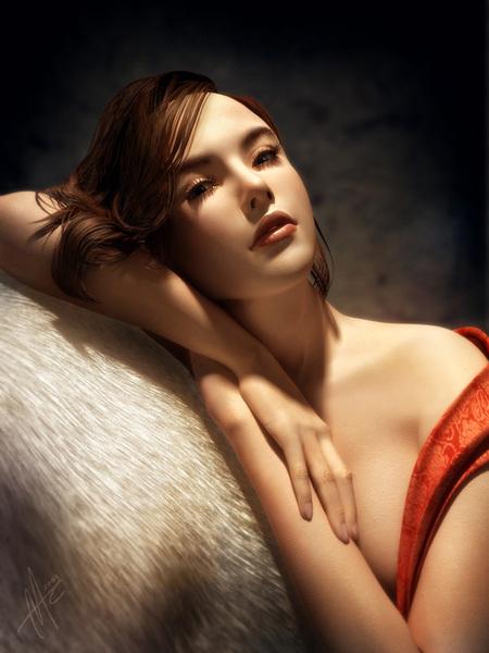 Beautiful CG Girl 8