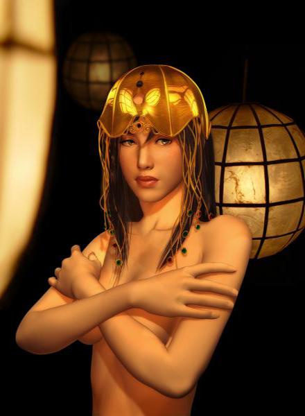 Beautiful CG Girl 13