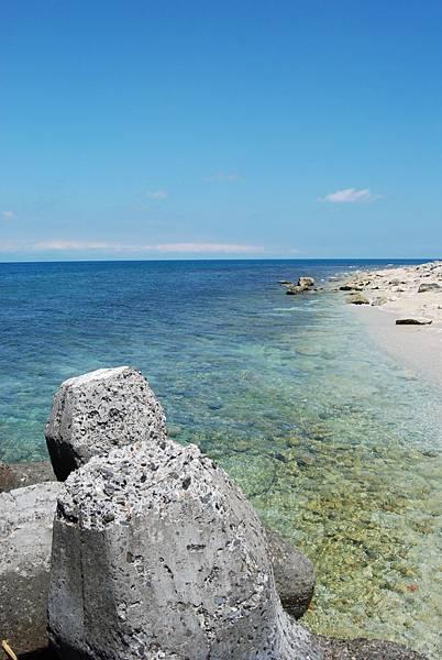 海水清澈見底