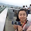 上凌霄閣(太平山天臺-展望台)有免費的導覽介紹