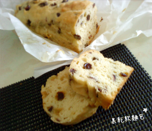 果乾軟麵包