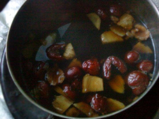 紅棗黑糖薑茶1