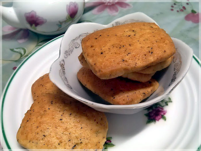 烏龍茶葉餅乾