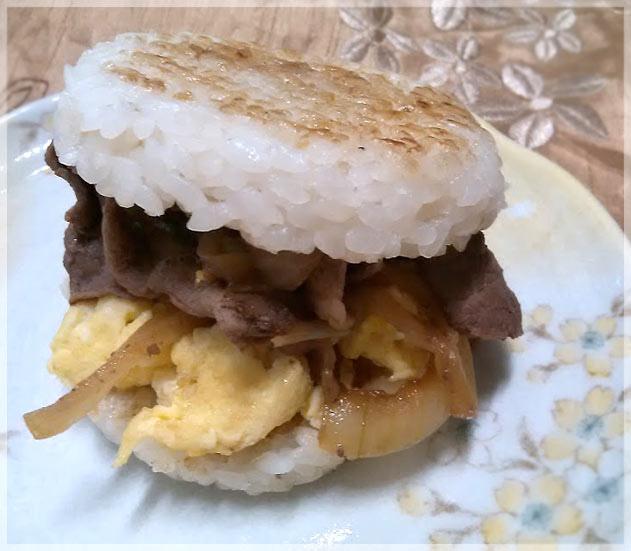 照燒牛肉米漢堡5