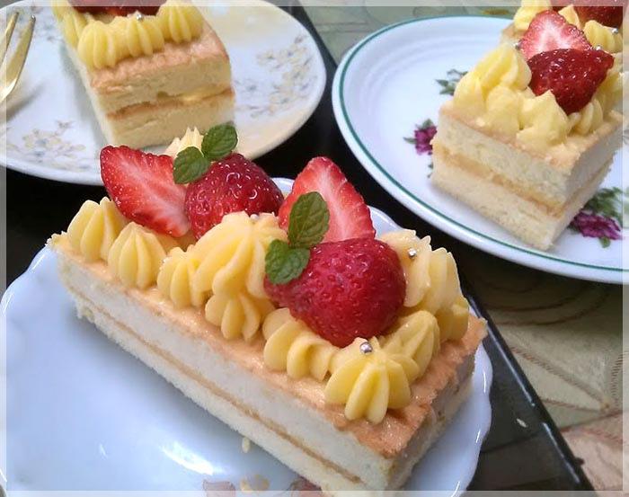 草莓卡士達蛋糕7