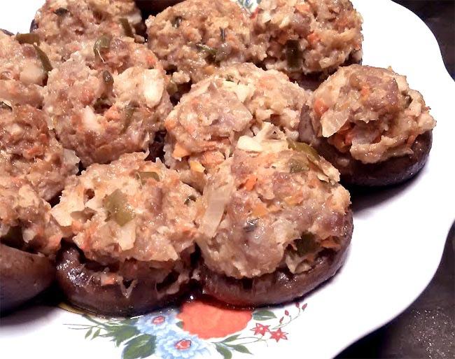 鮮菇鑲肉2