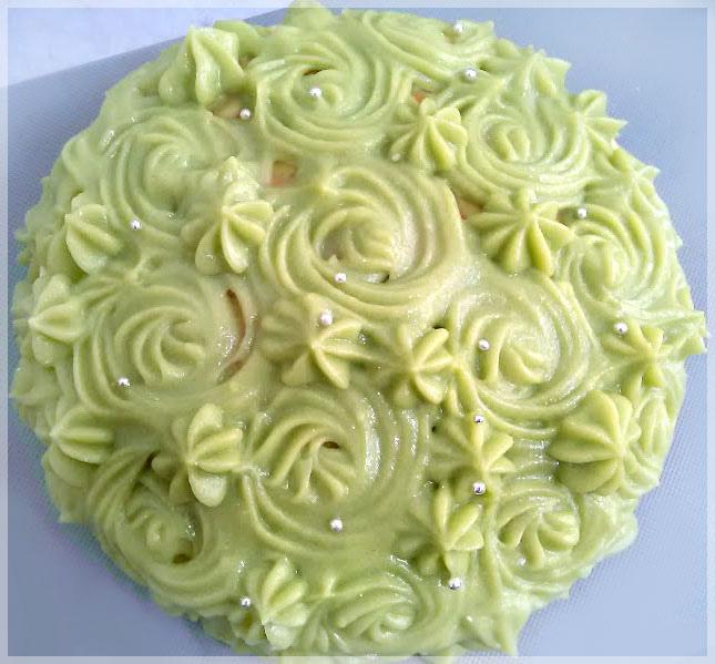 抹茶卡士達蛋糕8