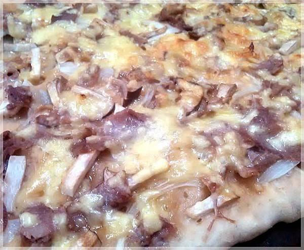 免揉披薩-和風豬