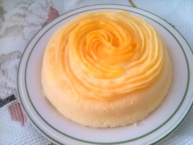 蜜桃風味輕蛋糕7