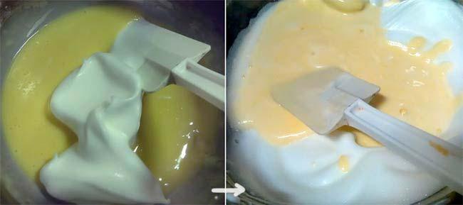 蜜桃風味輕蛋糕4