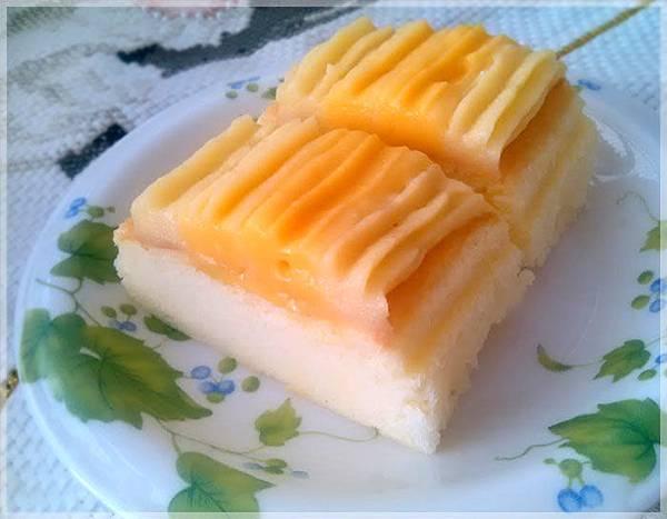 蜜桃風味輕蛋糕-