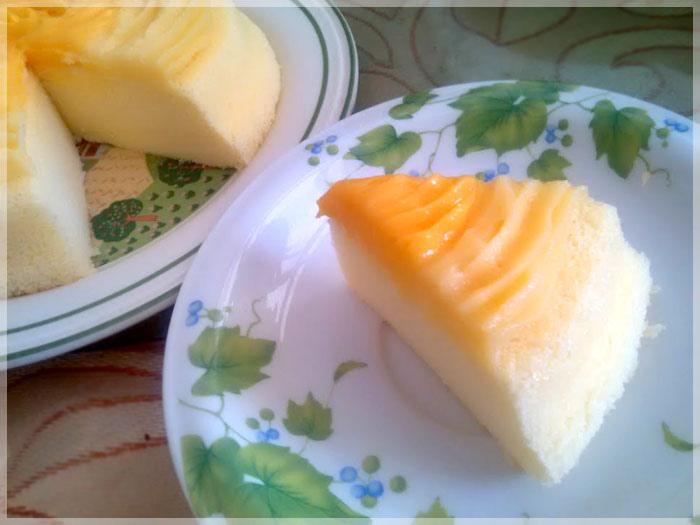 蜜桃風味輕蛋糕