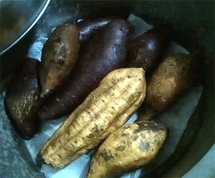 電鍋烤地瓜2