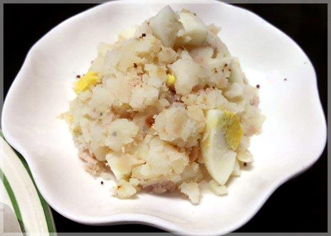 馬鈴薯鮪魚蛋沙拉