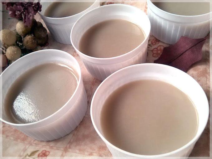 杏仁蜜茶凍