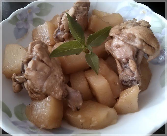 馬鈴薯燉雞肉3