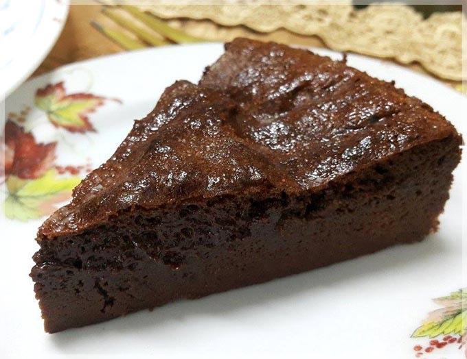 濃醇巧克力蛋糕-