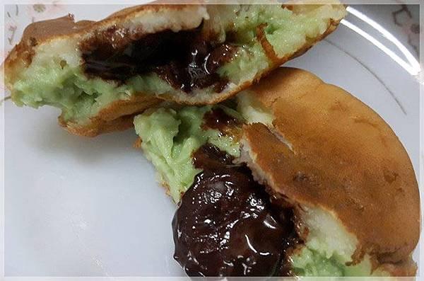 蛋糕餅皮車輪餅-抹茶巧克力
