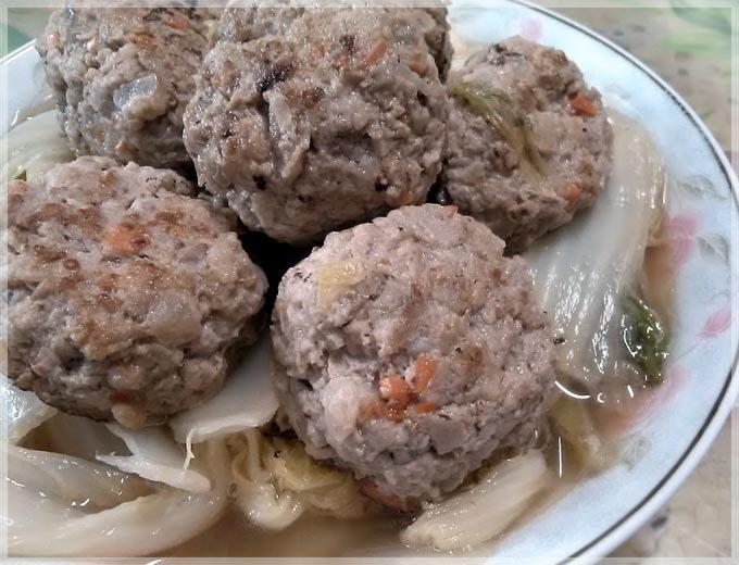 豆薯獅子頭