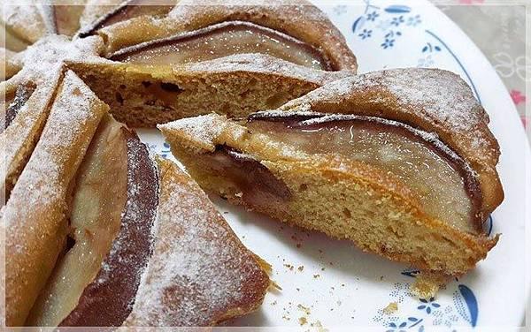 蜂蜜洋梨蛋糕-
