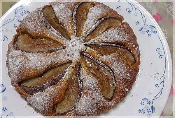 蜂蜜洋梨蛋糕