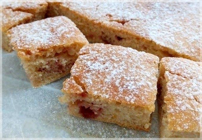 草莓醬快速蛋糕