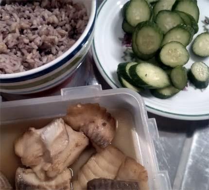 醬燒魚免捏飯糰1