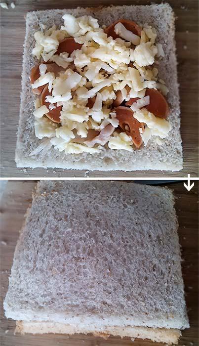雞犬熱壓三明治3