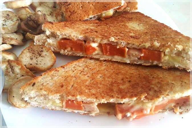 雞犬熱壓三明治