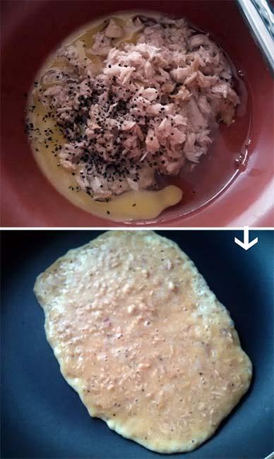 超厚蛋捲三明治-鮪魚1