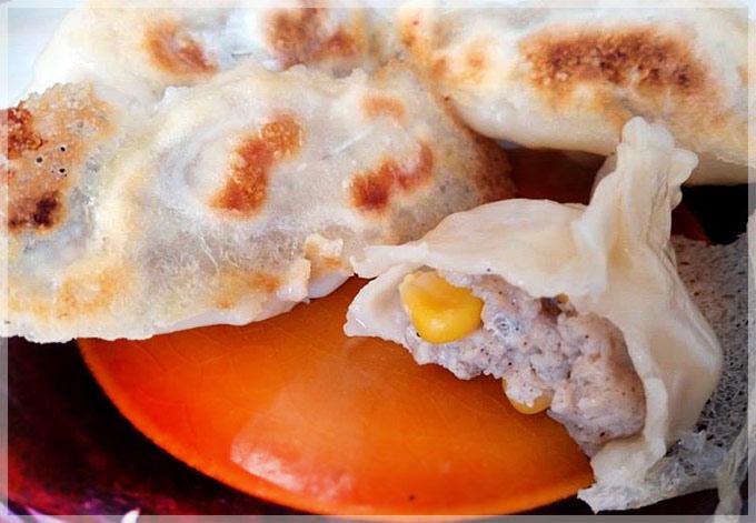 雞肉玉米餃-