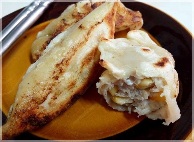 雞肉玉米餃