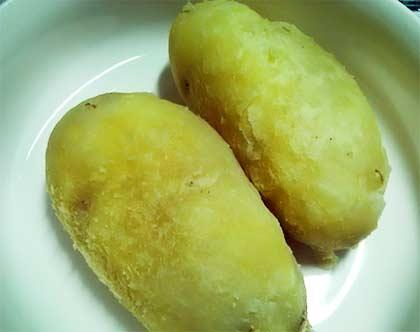 鹹味薯泥1