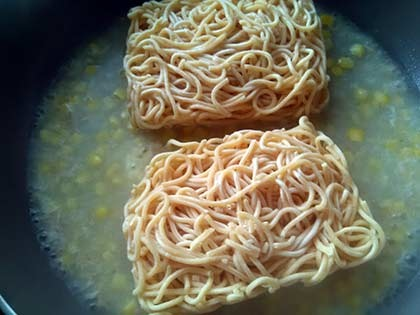 鮪魚玉米義大利麵3