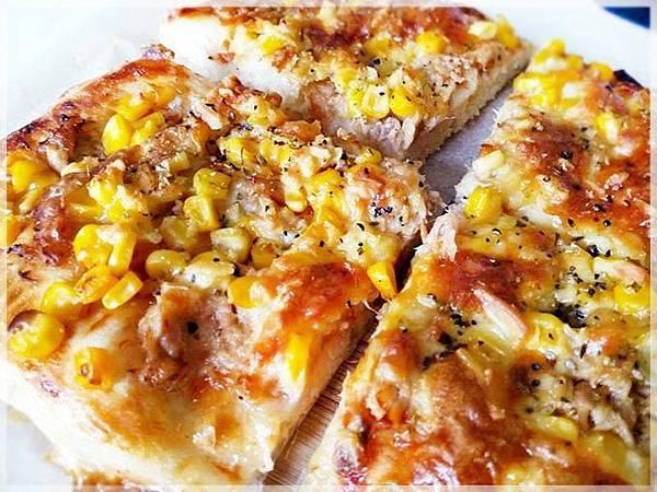 鮪魚玉米披薩-