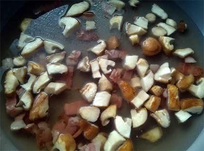 培根紅醬義大利麵3