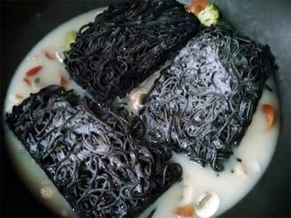 蘑菇墨魚義大利麵4